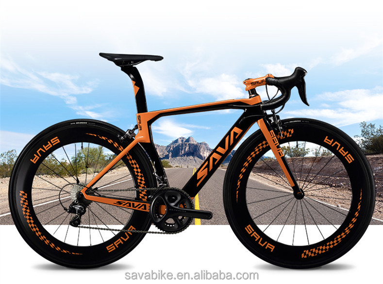 SAVA BRAND T700 carbon fiber road bike for sale/high quality bicycle made by carbon Ultgra 6800