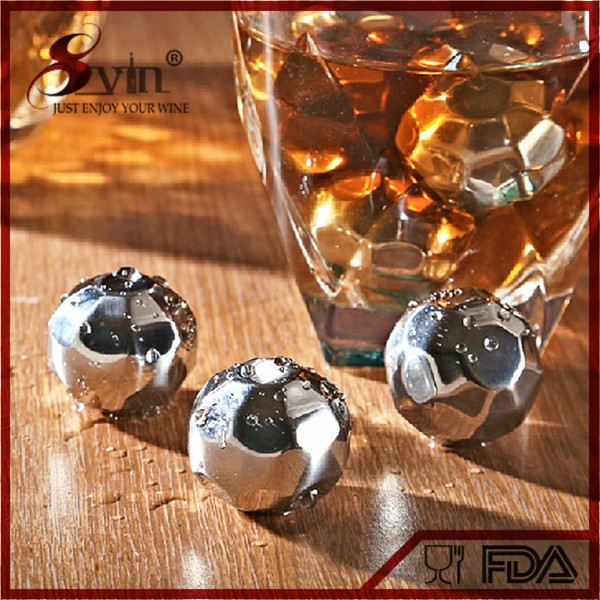 2016 New Wedding Favors For Reusable BPA Free Stainless Steel Ice Cube