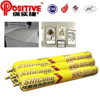non-toxic transparent silicone adhesive caulking for stainless steel