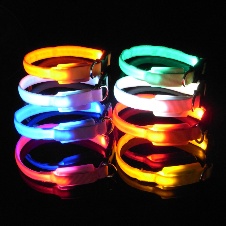 Smallest led dog collar