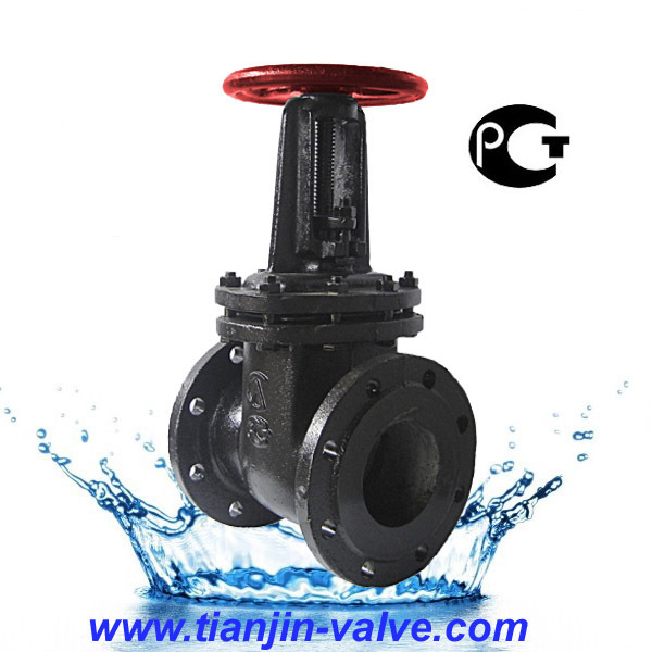 Gate valve drawing gate valve with bypass