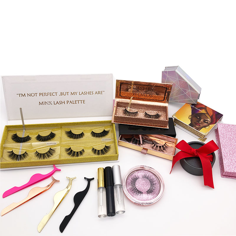 Low price false lashes real mink 3d eyelashes