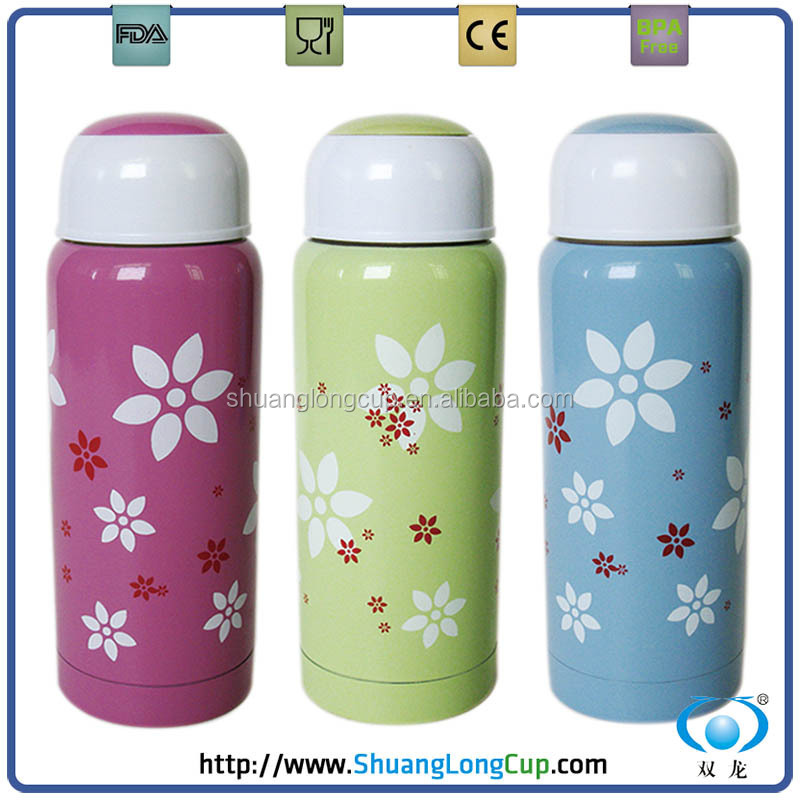 Leak proof stainless steel vacuum water bottle/thermos