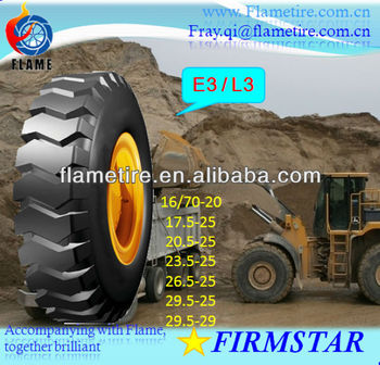 High quality Mining vehicle 16/70-20 17.5-25 20.5-25 23.5-25 26.5-25 29.5-25 29.5-29 Headway E3/L Industrial OTR tire/tyre