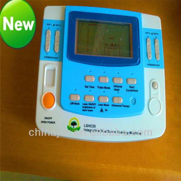 combination ultrasound tens acupuncture laser physiotherapy machine EA-VF29