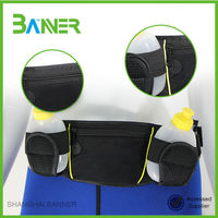 Outdoor exercise GYM Neoprene travel sports belt bag waist pouch