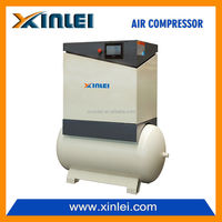 XLAM15AT-S8 11KW 15HP mine screw air compressor with 300L air tank