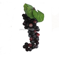 72pcs/string artificial fruit plastic wall decor grape