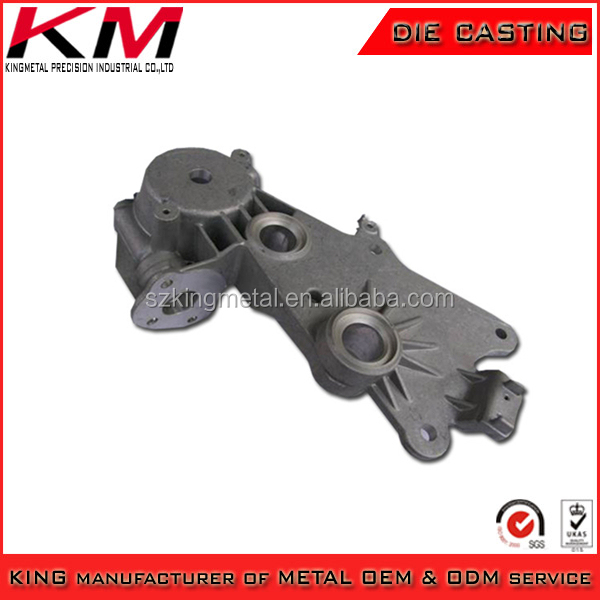made in china alum alloy casting shell hardware covers with plating promotion products