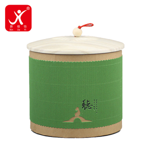 Popular selling products in usa round paper rice gift box packaging