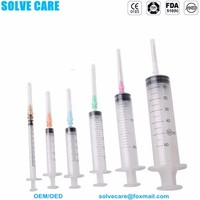 plastic syringe for veterinary