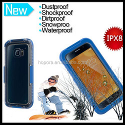 Full Body Sealed Mobile Phone Waterproof Case for S6