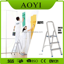 AY cheap products kitchen stools portable ladder telescopic folding chairs