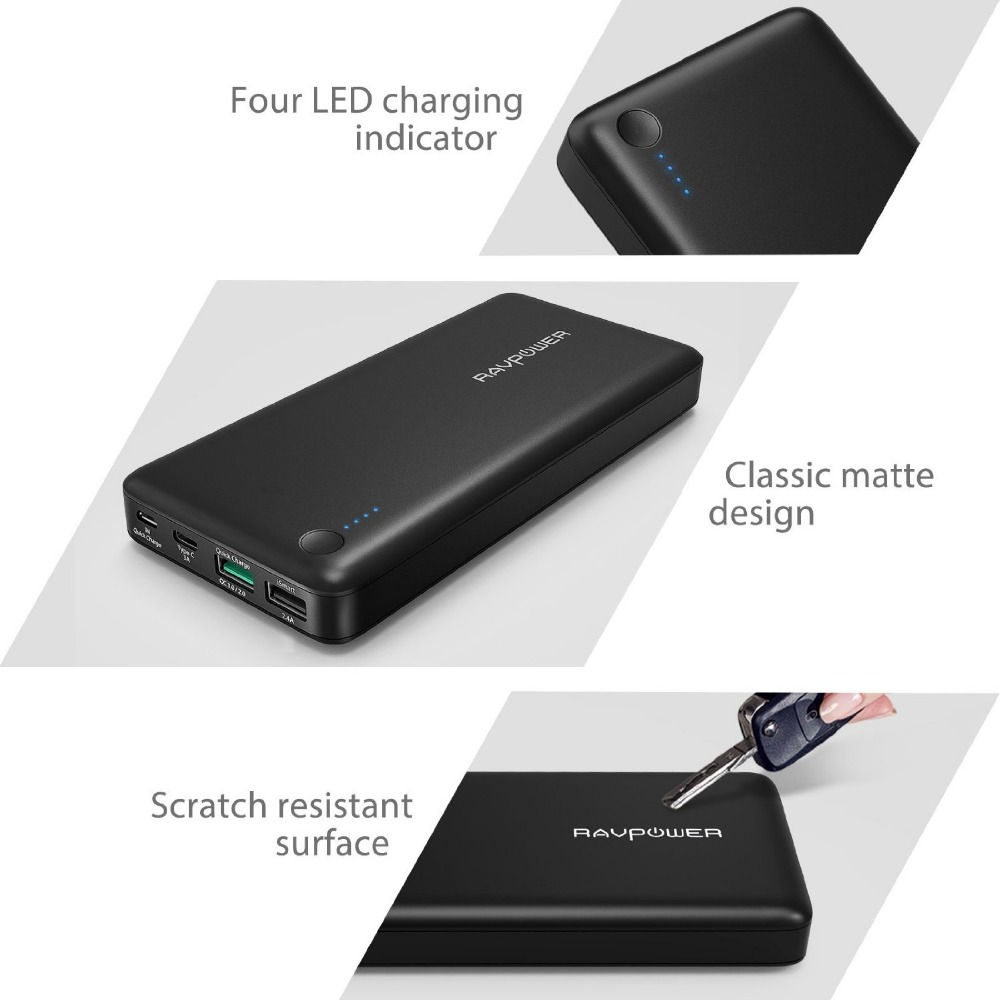 Slim Power Bank 20100mah portable charger external Battery 20100 mah mobile phone charger