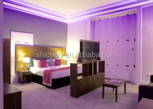 romantic style wedding apartment size furniture for hotel and motel