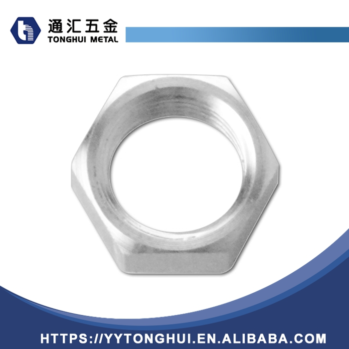 1THY-01.01.01 Stainless Steel Hex Retaining Nut