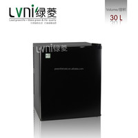 good quality LVNI 30L compact hotel room refrigerator without compressor /mini beer fridge
