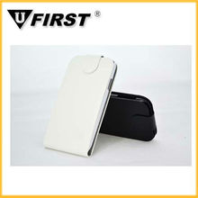 Flip leather cover for samsung galaxy S4/I9500;Bookstyle cases with card slot