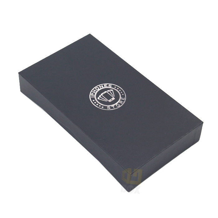 Lid And Based Black Corrugated Cardboard Box/Cardboard Packaging Box With Customized <strong>Logo</strong>
