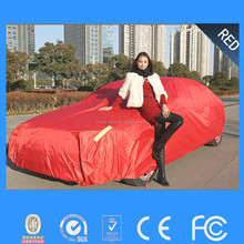 The lowest price full body car cover waterproof automatic roller car cover for sell
