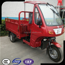 Chinese Three-wheel Moped Semi Closed Cabin Trike Motorcycle