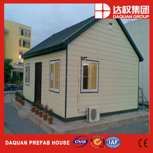 60m2 low cost prefabricated house with PVC insualted cladding