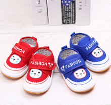 High quality hot selling cartoon cute children canvas shoes