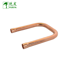 Customized Refrigeration Parts Copper Fittings m22*6