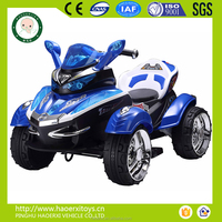 Electric ride on car for children with R/C kids car