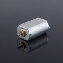 Plastic dc electric motor housing