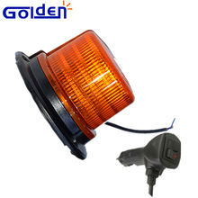 High power ECE R65 approved amber flashing beacon light strobe warning light with well sealed design