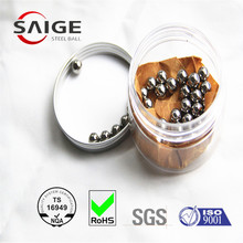 "SAIGE brand 1/4"" 6.35mm carbon steel ball used car/bicycle/tricycle for whole sale"