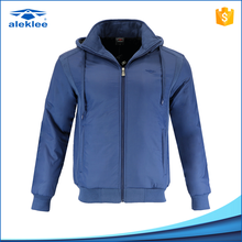 Latest Fashion Design Anti-Shrink Zipper-Up cotton / polyester jacket for men