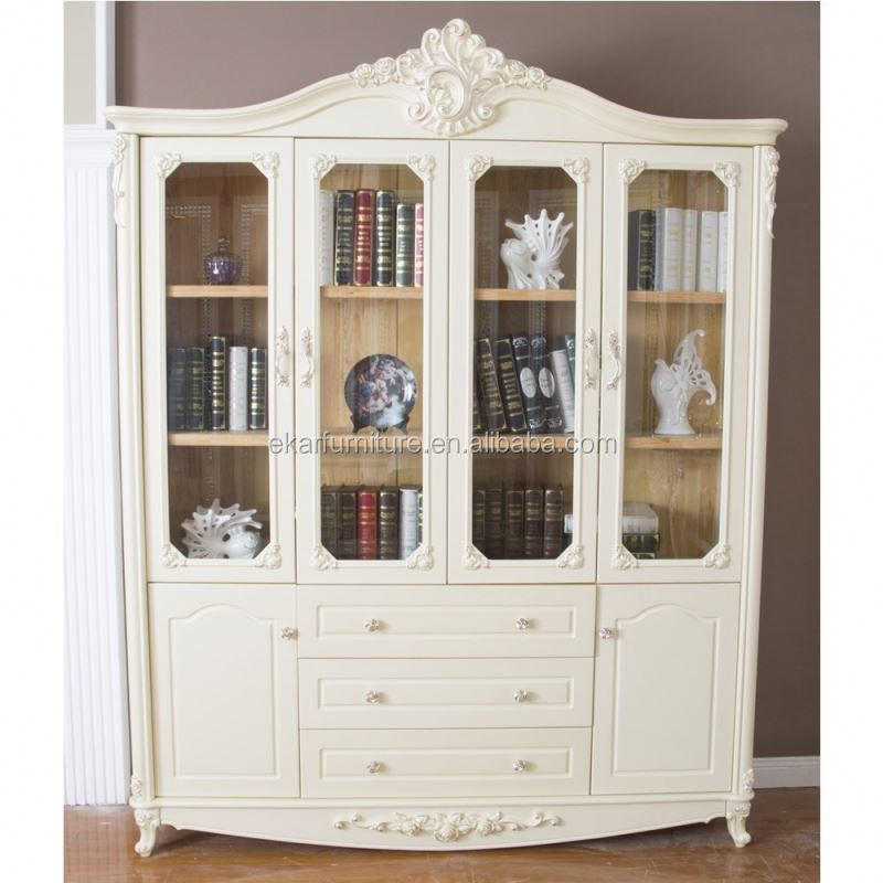 Wooden furniture designs modern classic furniture carved bookcase