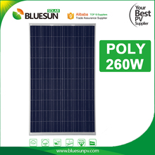 Polycrystalline solar panels 250 watt 250w 260w for industrial use