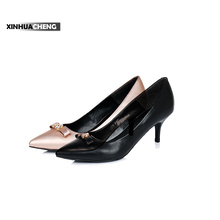 women fashion non-slip diamond bowknot pumps shoes