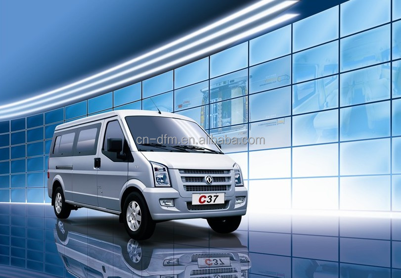 Dongfeng 250cc mini bus well-being 4x2 C37 Mini bus Peru