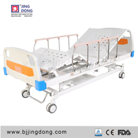 three functions hospital bed manufacturers , bed medical , 3 cranks manual hospital bed