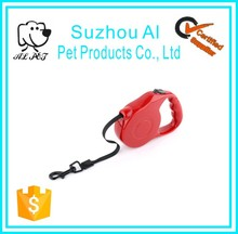 Durable Plastic Handle With a Nylon Ribbon Retractable Dog Leash