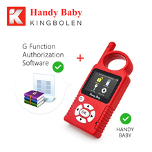 V8.1.0 Handy Baby Hand-held Car Key Copy Auto Key Programmer for 4D/46/48 Chip Key Programmer Get G Function For Free