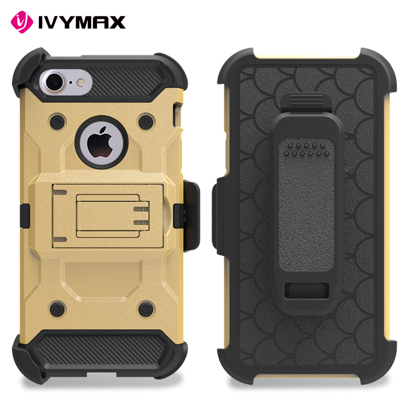 IVYMAX Guangzhou wholesale fundas de celulares high quality holster case for Apple iphone 5 / 5S / 5SE