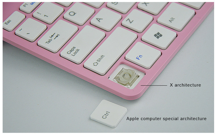 Mini wireless keyboard mouse set_X architecture keyboard