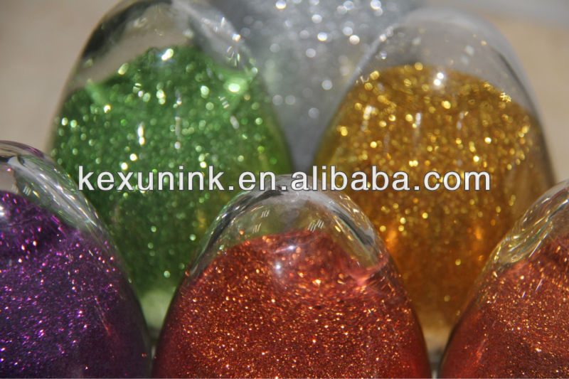 competitive glitter pastes from factory