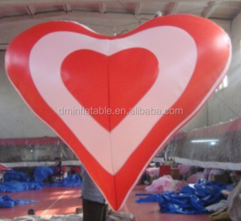 Valentine 39 s day inflatable hearts for stage decoration Valentine stage decorations