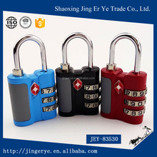 metalic quality wholesale custom logo metal TSA Lock