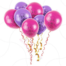Factory price In stock new sexy hen bachelorette party inflate latex penis printed balloon