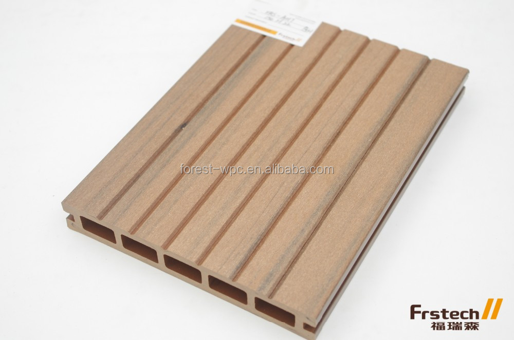 Wpc Garden Composite Wood Reclaimed Wood Plank Tiger Wood Decking