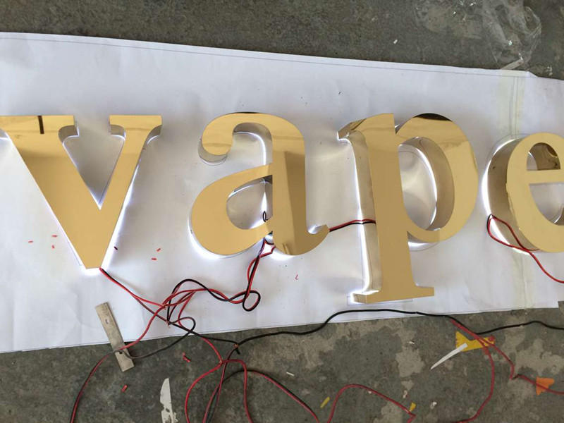 high quality zinc alloy emblem car,metal letters marquee letters galvanized metal letters