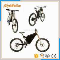 high powerful 72v 5000W powerful electric bike buy full suspension 5000w electric bike price in china
