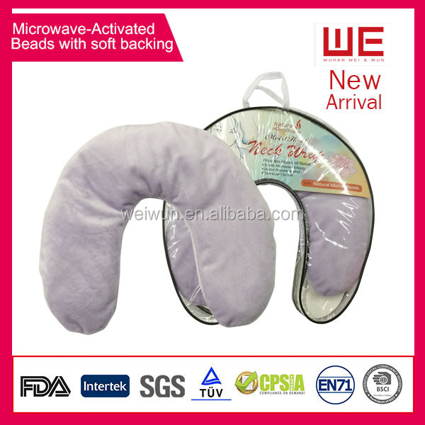 U shape Hot/Cool Heated Microwave activated Neck Wrap